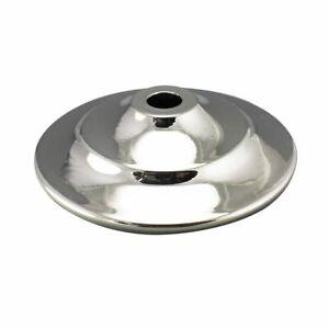 POLISHED-NICKEL-VASE-CAP-LAMP-COVER-1-3-8-034-to-5-1-2-034-Dia-Lamp-Repair