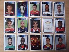 PANINI CHAMPIONS LEAGUE 10/11 - 2010 - 2011 - 30 Sticker scegliere Nuovo