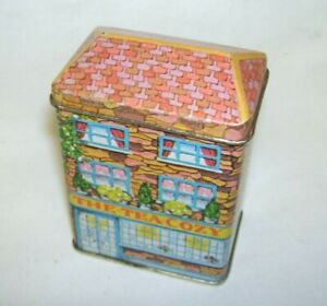 1984 Lillian Vernon The Tea Cozy Tin Box  Empty