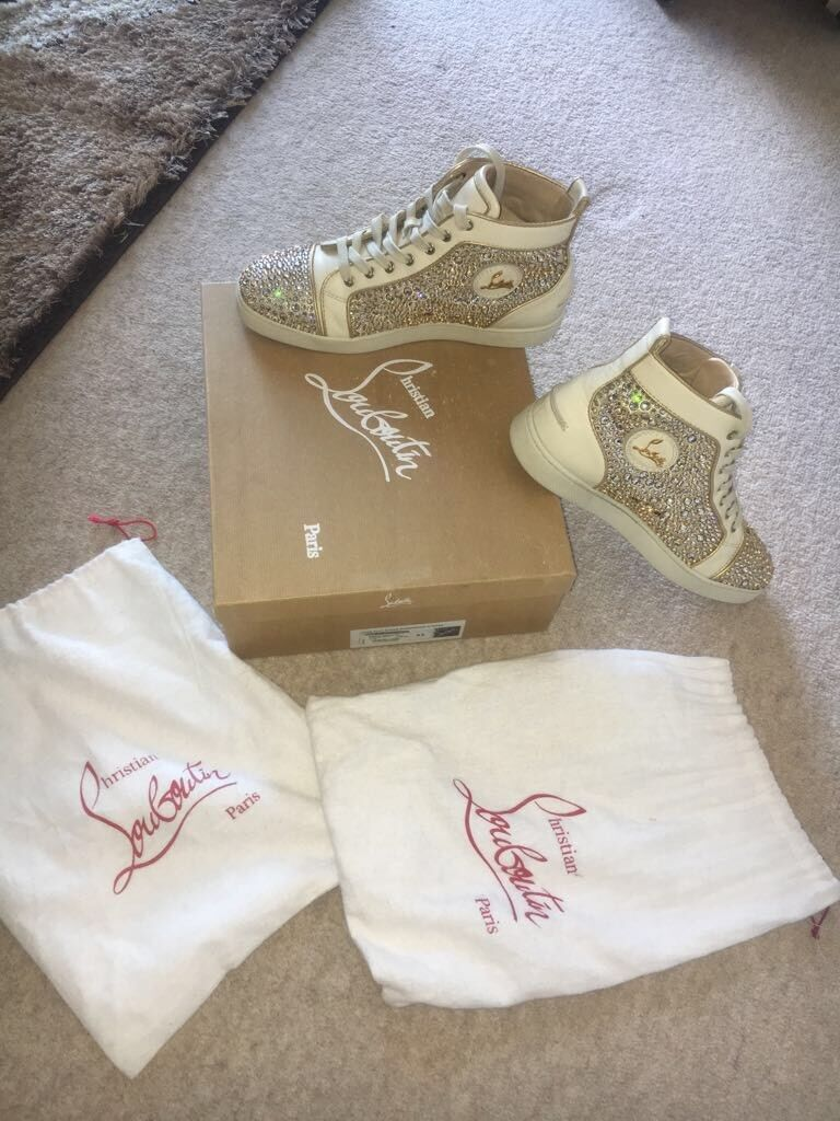 Christian Louboutin Mens Trainers Sneakers size 9