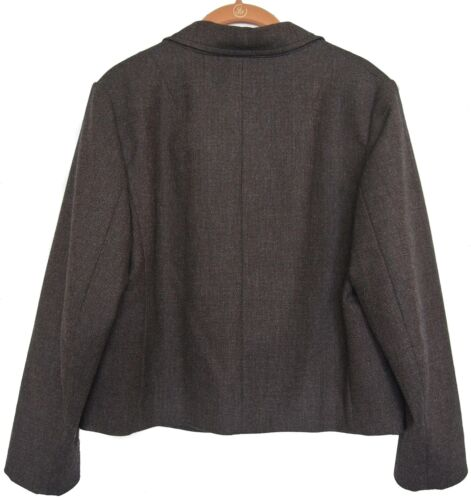 Cashmere Taglia Barbera 10 Us Luciano Brown 46 Wool Jacket Blazer wngnq1OSB
