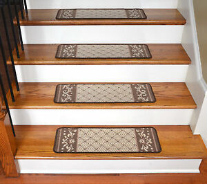 Image Is Loading Dean Washable Non Skid Carpet Stair Treads Caramel