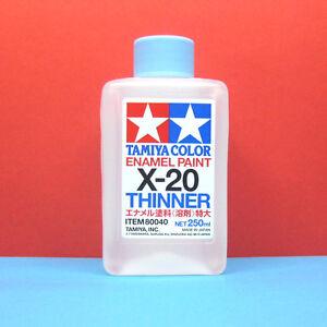 tamiya 80040 tamiya color enamel paint x 20 enamel thinner 250ml