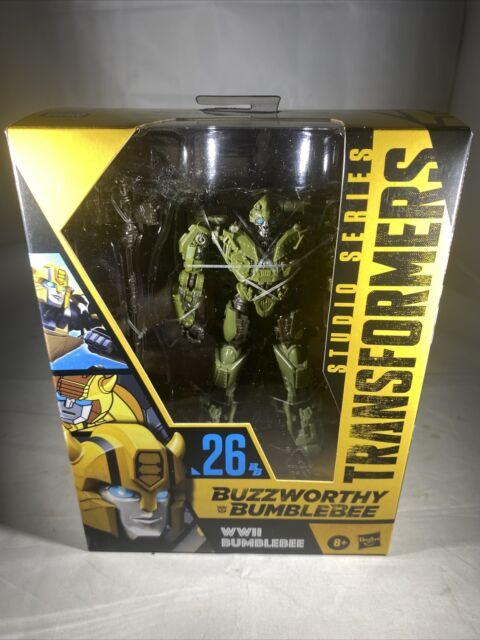Transformers Buzzworthy Bumblebee Studio Series 26 WWII World War 2