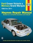 Ford Crown Victoria Automotive Repair Manual: 1988 - 2011 by Ken Freund (Paperback, 2015)