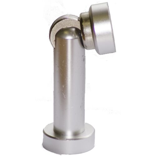 Adoored SALUTE MAGNETIC DOOR STOP UK Brand Satin Chrome Or Polished Chrome