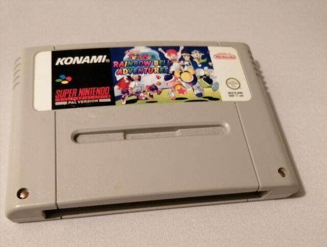 Pop 'n TwinBee Rainbow Bell  (Super Nintendo Entertainment System) - snes