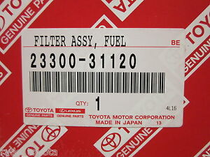 HILUX-PETROL-FUEL-FILTER-1GRFE-2004-ONWARDS-TOYOTA-GENUINE-PARTS