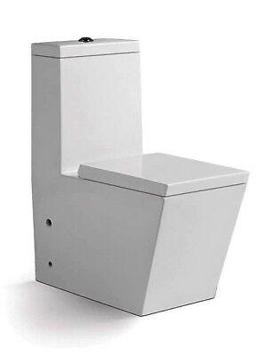 Design Stand Wc Con Wc Toilette (effetto Lotus) & Soft-close Duroplast-mostra Il Titolo Originale