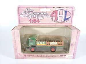 American-Highway-Legends-GMC-T-70-Brewery-Collection-Truck-JAX-Beer-1-64-NEW-NIB