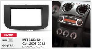 CARAV-11-676-2Din-Marco-Adaptador-Instalacion-de-Radio-MITSUBISHI-Colt-2008-2012