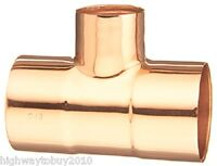 (20) Ea Elkhart Products 32824 1 X 1 X 3/4 Copper Tee Plumbing Fittings