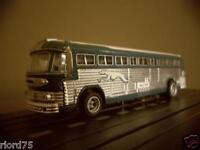 Custom Greyhound Bus los Angeles Aw 4-gear Plastic Body Rare