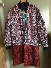 KENZO X H&M Mantel  Jacke coat jacket  reversible / detachable Größe size S