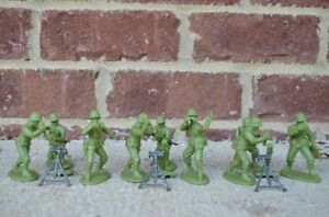 WWII-US-Infantry-Mortar-Section-60MM-Expeditionary-Force-Toy-Soldier