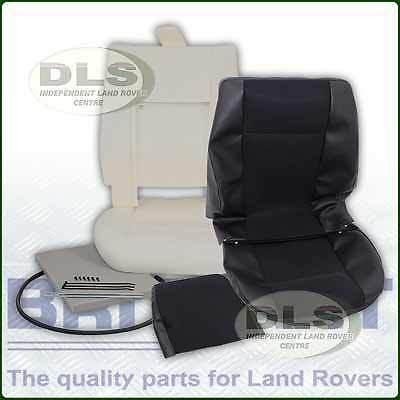 Mesh Vinyl Outer Seat Re-trim Kit w/o Glue Land Rover Defender to`07 (DA5603E)