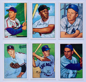 1952-Bowman-Baseball-Reprint-All-Team-Sets-Available-FREE-TY-COBB-Card