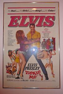 TICKLE-ME-Elvis-Presley-numbered-litho-64-99-framed-movie-poster-40-034-x-27-034
