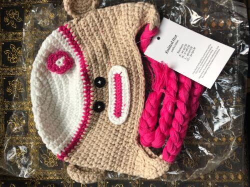 Baby Infant knitted beanie crochet New Born Beanie headband Hat newborn crochet
