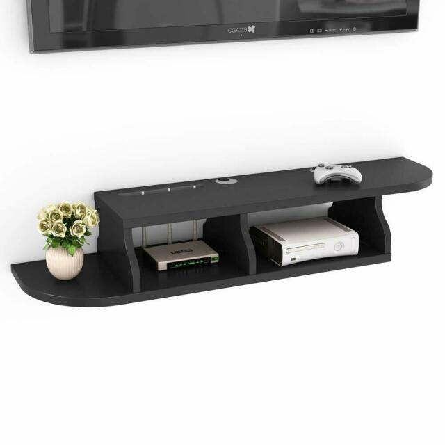 Home 2 Tier Floating Shelves Wall Mount Display Storage