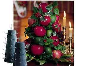 Apple-Cone-Colonial-Williamsburg-Tree-Base-for-Fresh-Fruit-Table-Centerpiece