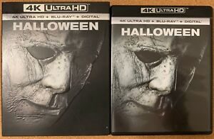 HALLOWEEN-2018-4K-ULTRA-HD-BLU-RAY-2-DISC-SET-SLIPCOVER-SLEEVE-FREE-SHIPPING