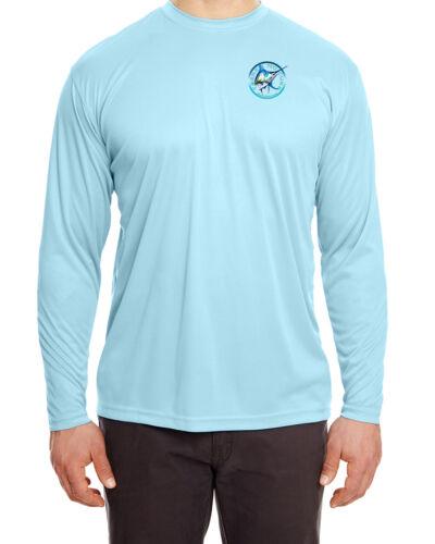 Salt Addiction t shirt Offshore marlin microfiber fishing long sleeve 30 UPF UV
