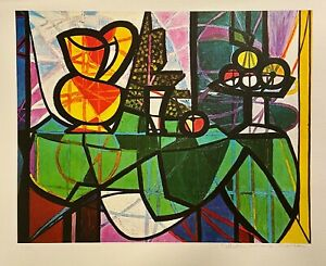 Picasso-Original-Hand-Signed-Limited-Edition-Lithograph-Fruit-Estate-Collection