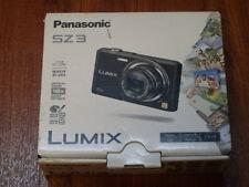 NEW in Open Box - Panasonic Lumix SZ3 16.1 MP Camera - BLACK - 885170117716