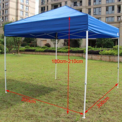 Outdoor Gazebo 3x3m 3x4.5m Folding Pop Up Marquee Shade Tent Canopy AU SHIP