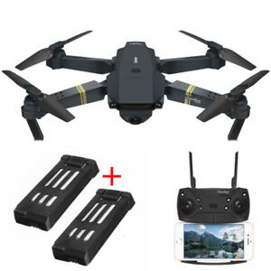 Camera Drones Toys & Hobbies Responsible Eachine Drone X Pro Foldable 2.4ghz Quadcopter Wifi 1080p Camera 4 Pcs Batteries