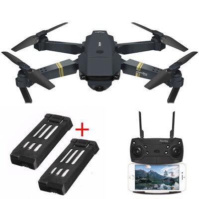 Drone Quadcopter WIFI X Pro Wide Angle Camera 720 Full HD FPV RTF 2x Batteries