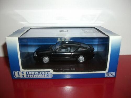 RENAULT alpine V6 turbo noire UH 1//43