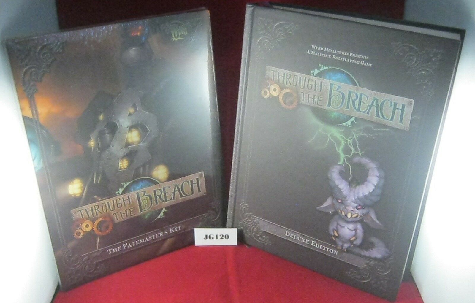 Malifaux Through the Breach Deluxe Edition Edition Edition + Fatemasters Kit   Ref JG120 0518d1
