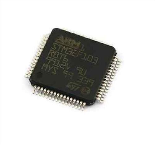 10Pcs LQFP-64 STM32F103RBT6 STM32F103 LQFP64 128Kbytes Arm St New Ic kt
