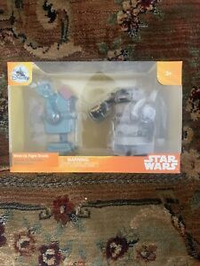 """Star Wars Wind Up Fight Droids Solo Disney 6"""" Figures Black Series"""