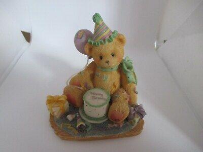 """Cherished Teddies - """"sei La Glassa Sulla Torta Di Compleanno"""" Bear-mostra Il Titolo Originale Fresco In Estate E Caldo In Inverno"""