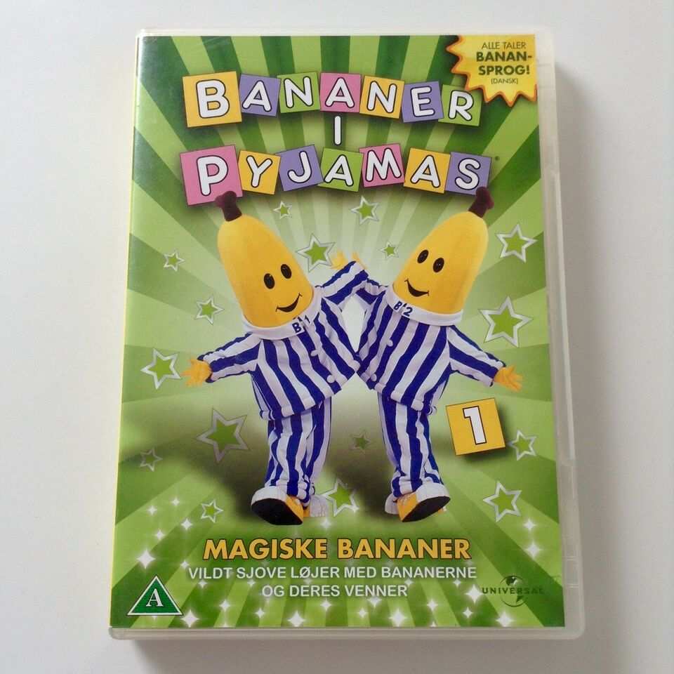 Bananer i Pyjamas, DVD, familiefilm