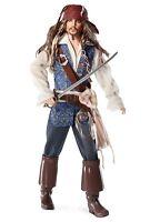 Pirates Of The Caribbean Captain Jack Sparrow Barbie Disney Pink Label Mint