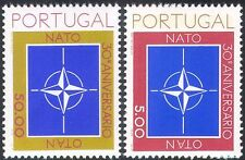 Portugal 1979 NATO 30th Anniversary/People/Military Organizations 2v set n42811