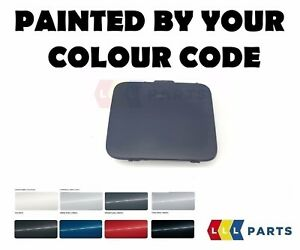 BMW-E60-E61-M-SPORT-FRONT-BUMPER-TOW-HOOK-EYE-COVER-PAINTED-BY-YOUR-COLOUR-CODE
