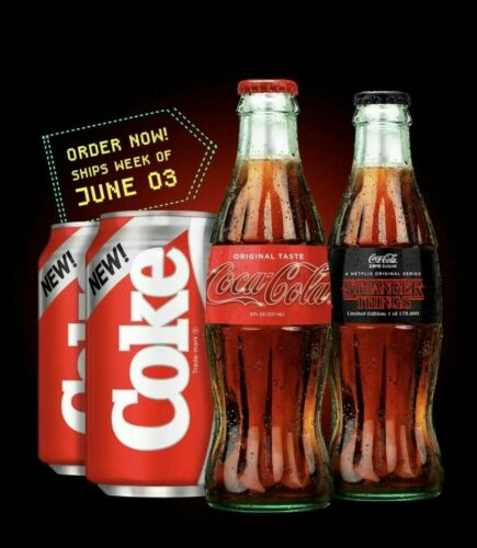 New Coke /& Stranger Things 1985 Limited Edition Collector/'s Pack CONFIRMED
