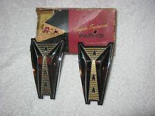 NOS Mopar 1960 Dodge 2 Door Quarter Ornaments