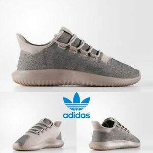Image is loading Adidas-Original-Tubular-Shadow-Shoes-Running-Grey-Pink- 0cf1726a6