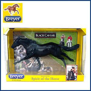 NEW-BREYER-BLACK-CAVIAR-AUSTRALIAN-RACING-1-9-HORSE-MODEL-TRADITIONAL-SERIES