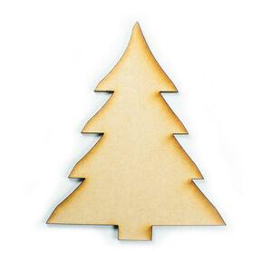 MDF-Wood-Wooden-Shape-Shapes-Christmas-Tree-Cutout-Craft-Home-Room-Decor-Kids
