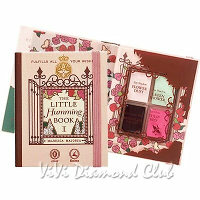 Shiseido MAJOLICA MAJORCA Little Humming Book I Palette 10th Anniversary LTD Ed