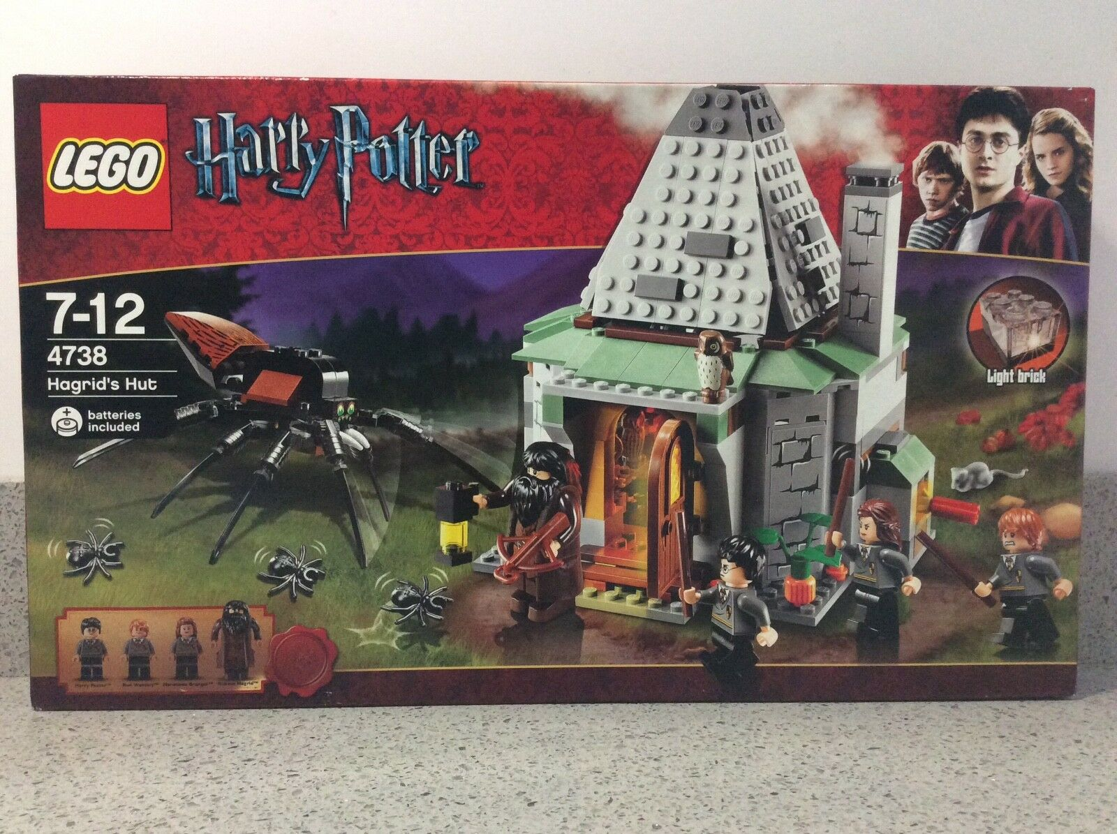 Lego HARRY POTTER Hagrids Hut - BRAND NEW & SEALED
