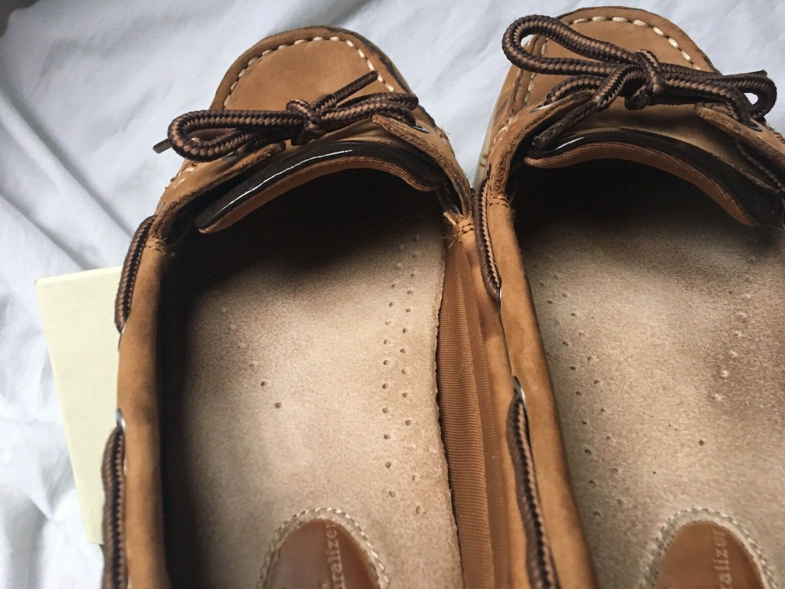 Naturalizer NaturalSoul Oliver Oliver Oliver shoes 8 tan leopard EUC in Box only worn in home c38653