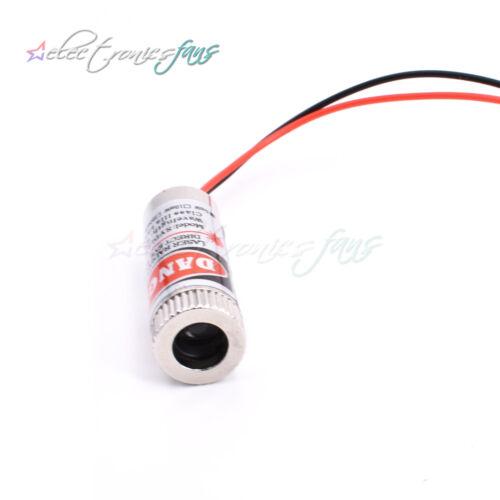 5PCS 5mW Red Dot Adjustable Laser Module 650NM Focus Red Dot Laser Head new